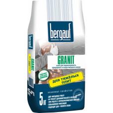 Granit  5 кг клей для крупноформатных и тяжелых плит Bergauf (6шт/пал)