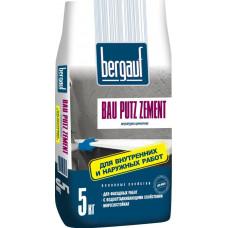 Bau Putz Zement  5 кг  цементная штукатурка с повышенной водо- и морозостойкостью   (6шт/пал)