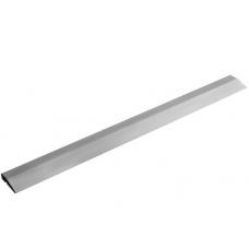 Правило Трапеция алюминий, с канавкой и пластиковыми заглушками 1,5м Maurerfreund