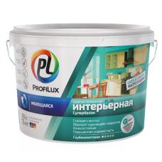 """""""Профилюкс"""" ВД краска  моющаяся, д/ванной и кухни  износоуст. СУПЕРБЕЛАЯ PL- 13L 13кг."""
