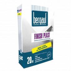Finich Plast 20 кг Финишная шпаклевка на полимерной основе для стен и потолков Bergauf  (64шт/пал)