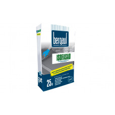 Isofasad 25 кг клей для плит из пенополистирола и мин.ваты для фасадных систем Bergauf (56шт/пал)
