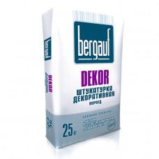 DEKOR FASAD 25 кгдекоративная штукатурка короед Bergauf (Серая)(56шт/пал)