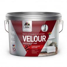 """Dufa Premium"" VELOUR краска акриловая интерьерная бархатистая текстура, base 1, 10л***"