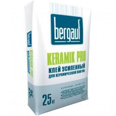 Keramik Pro  25 кг  клей усиленный для керамической   плитки, теплого пола   Bergauf  (56шт/пал)
