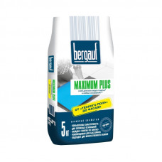 Maximum Plus  5 кг клей для всех видов плитки на сложные основания  Bergauf   (6шт/пал)