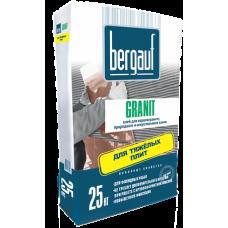 Granit 25 кг клей для крупноформатных и тяжелых плит Bergauf (56шт/пал)