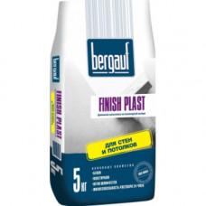 Finich Plast 5 кг Финишная шпаклевка на полимерной основе для стен и потолков Bergauf (6шт/пал)