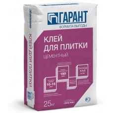 КЛЕЙ ДЛЯ ПЛИТКИ  ЦЕМЕНТНЫЙ5 кг ТМ ГАРАНТ (6шт/упак)