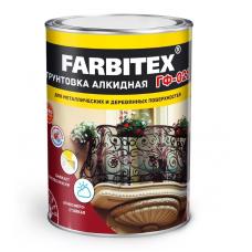 ГФ-021 серый 2,7кг. FARBITEX