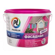 """""""Профилюкс""""  Краска ВД фасадная влагостойкая белая PL-112А 40кг"""