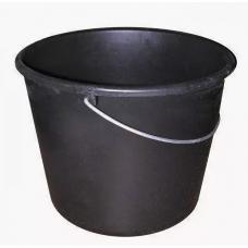 Ведро для смесей пластм. круглое 16л черный 1/1 Т4Р 0602216