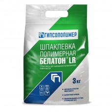 БЕЛАТОН LR 3кг шпаклевка полимерная финишная  (10шт/упак) ГИПСОПОЛИМЕР