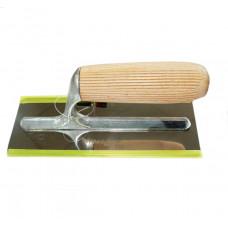 Кельма венецианская, размер 200#80 мм, полотно из нержавеющей стали, ручка из древесины бука  УПРАВ