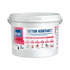 Bergauf Beton Kontakt морозостойкий 7 кг Адгезионная акриловая грунтовка (72шт/пал)
