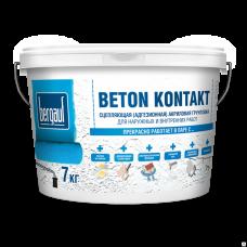 Bergauf Beton Kontakt морозостойкий, 14 кг - Адгезионная акриловая грунтовка (44шт/пал)