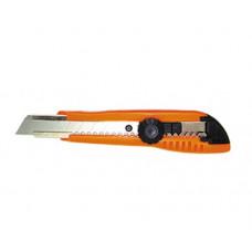 Нож пистолетный упрочнённый ширина 18мм, с винтовым фиксатором П067-008